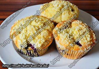 blaubeeren muffins einfache schnelle rezepte. Black Bedroom Furniture Sets. Home Design Ideas