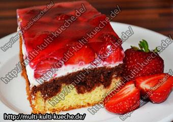 Erdbeer Marmor Kuchen Einfache Kuchen Rezept Marmorkuchen