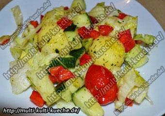 Knödel Salat
