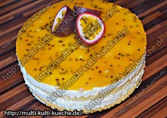 Maracuja Käse Sahne Torte
