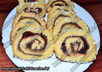 Nutella & Kirsch Schnecken Kekse