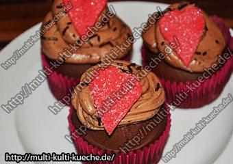 Schokoherz Muffins