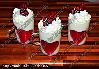 Valentins Milchcrem Dessert