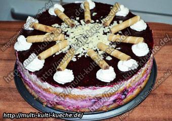 Waldbeeren Torte