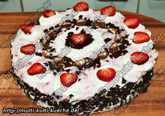 Yogurette Torte ohne backen