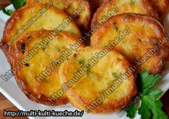Herzhafte Petersilien Schafskäse Pancake