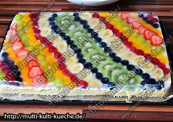 Obst Schmand Kuchen