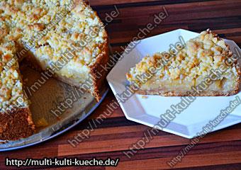 Apfelkuchen mit Streusel - Streuselkuchen