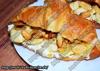 Bananen Croissants