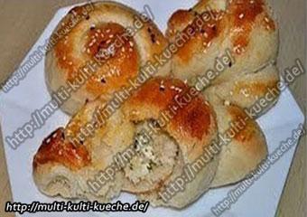 Türkische Brötchen Schafskäse Rezepte