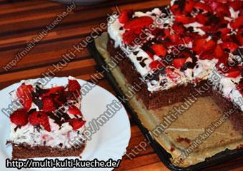 Dickmann Erdbeer Kuchen