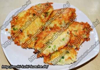 Gebratenes Kartoffelpüree - Kartoffelbrei braten