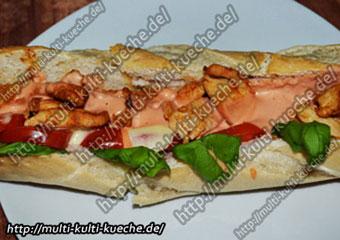 Hähnchen Baguette
