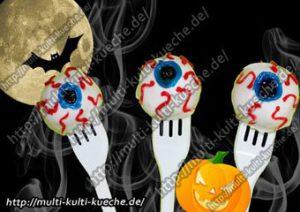 Halloween Augen Cake Pops