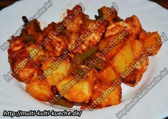 Kartoffel Putenbrust Pfanne