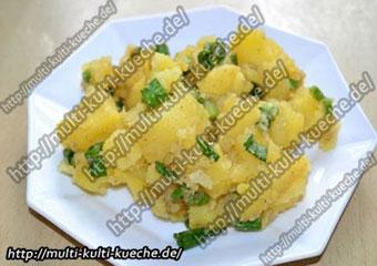 Kartoffelsalat mit Essig