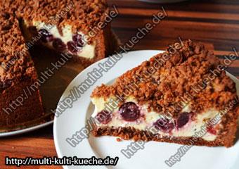 Kirsch Schoko Streuselkuchen