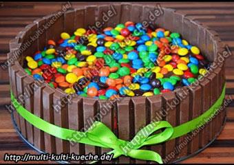 M&M Kitkat Torte