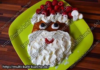 Pfannkuchen Weihnachtsmann