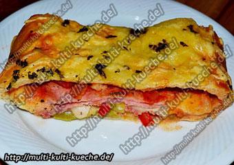 Stromboli ein mix aus Pizza und Calzone