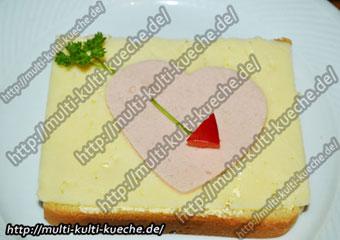 Valentinstag Brot