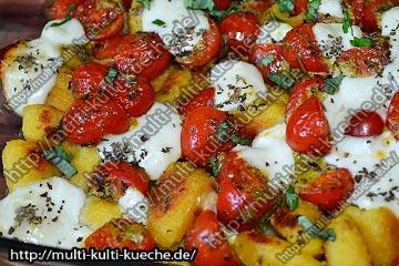 Schnellen Tomaten Gnocchi Auflauf