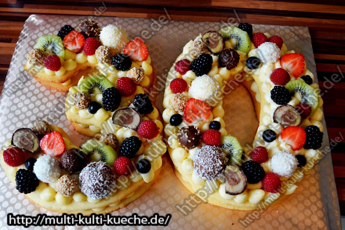 Number Cake - Zahlen Kuchen