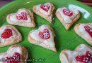 Croissant Herzen mit Vanillepudding – Croissant Teig