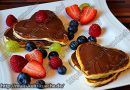 Herz Pancake – Valentinstag / Muttertag Rezepte
