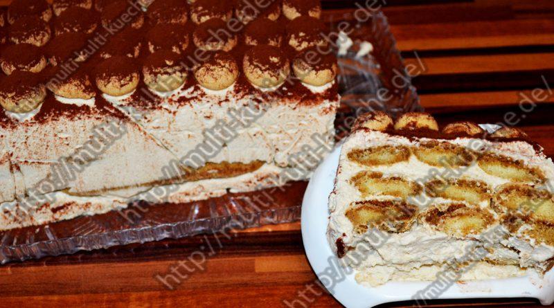 Schnellen Tiramisu Kuchen ohne Alkohol